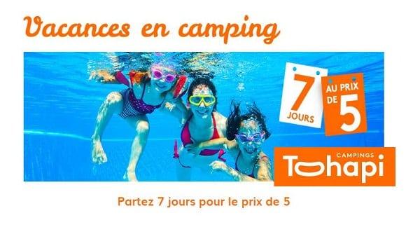 Tohapi 7 Nuits Pour Le Prix De 5 Sur Vos Vacances Cet été