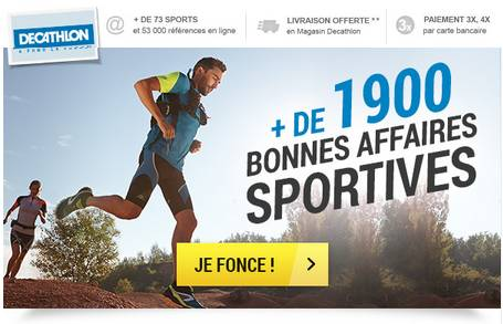 bonnes affaires Decathlon