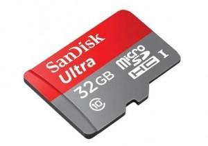 carte microSDHC 32 Go SanDisk Ultra Android