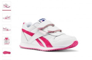 chaussures Reebok fille Royal Classic rose à 15 euros