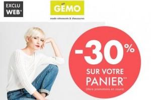 code promo GEMO