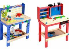 Moins de 38 euros l' établi en bois enfant avec accessoires port inclus (3 modèles)