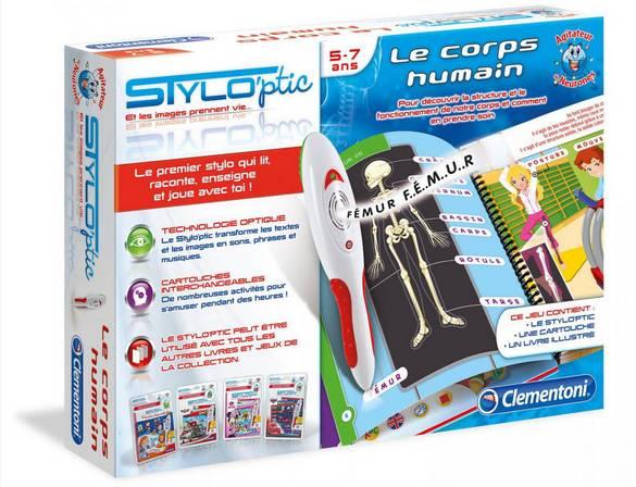 jeu Stylo'ptic Le Corps Humain