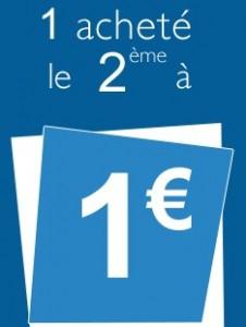 le deuxieme a 1 euro La redoute
