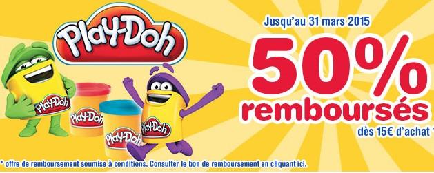 remboursement Play-Doh 2015