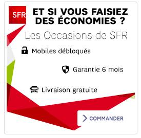 smartphones occasion Recommerce par SFR