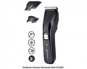 tondeuse cheveux remington pro power sans fil moins 20 euros 29 9 10 euros sur carte auchan. Black Bedroom Furniture Sets. Home Design Ideas
