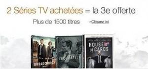 1 serie TV offerte pour 2 achetes