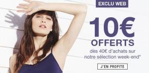 10 euros de remises Monoprix dès 40 euros d'achats