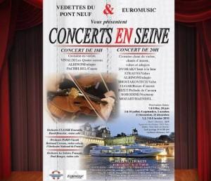 Croisière sur la Seine avec concert à 20 euros