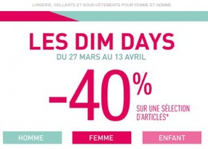Dim Days code promo