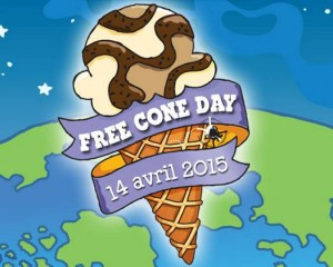 Free Cone Day 2015
