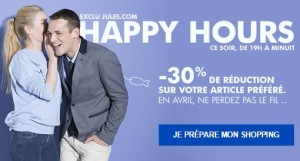 Happy hours Jules avril 2015