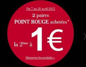 La Halle : la deuxième paire à 1 euro