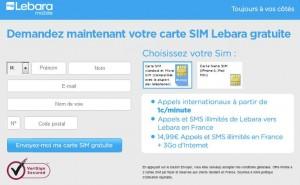 Lebara Mobile bon plan