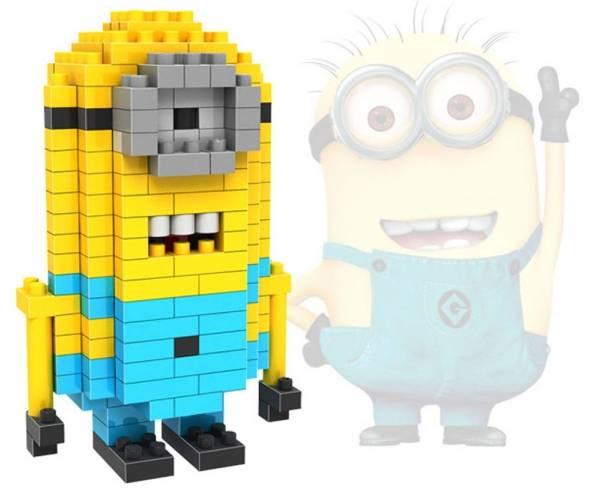 2 5 euros le personnage minions de moi moche et m chant construire type lego port inclus - Lego moi moche et mechant ...