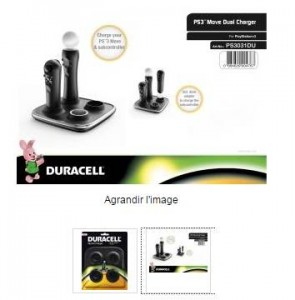 Playstation Move Duracell PS3