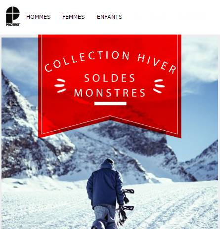 Soldes Protest hiver