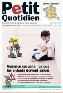 Telechargez l'edition speciale Le Petit Quotidien Violence sexuelle expliquee aux enfants
