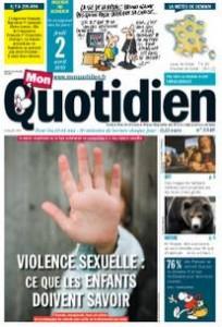 Mon Quotidien Violence Sexuelle expliquee aux pre-ados