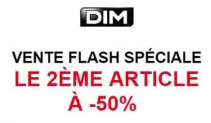 Vente flash DIM