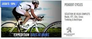 Vente privée Peugeot Cycles
