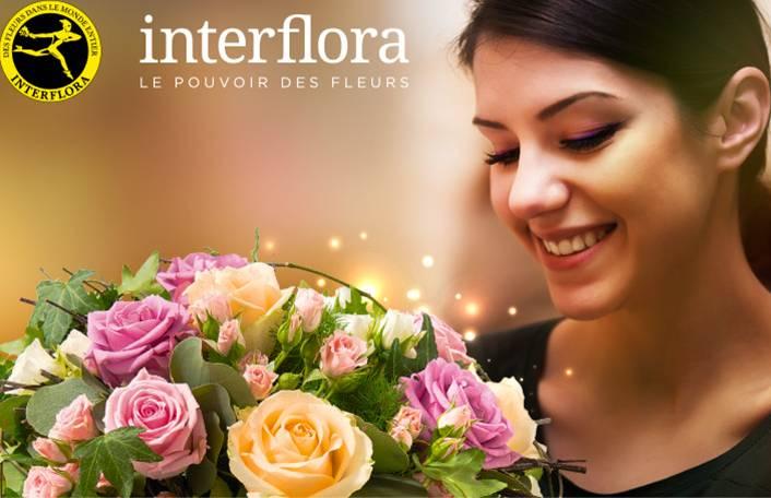 bon d achat 30 euros d achats sur interflora pour 15 euros. Black Bedroom Furniture Sets. Home Design Ideas