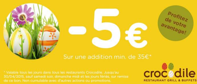 Coupons remises l'or