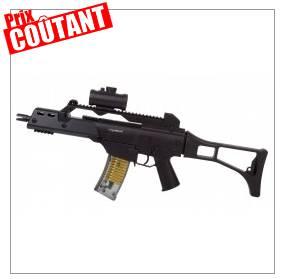 fusil à billes avec visée laser à 10,29 euros