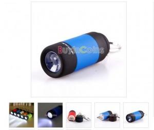 mini lampe de poche à led rechargeable via USB