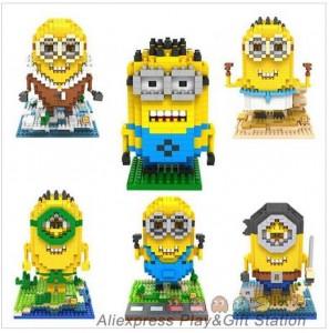 2 5 euros le personnage minions de moi moche et m chant - Lego modeles de construction ...