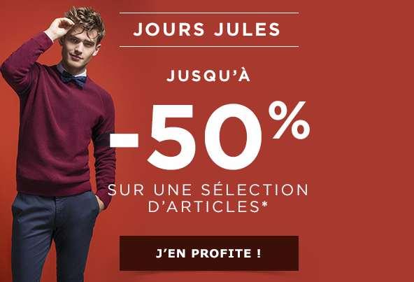 offre sur Jules