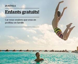 séjour enfant gratuit IBEROSTAR Hotels