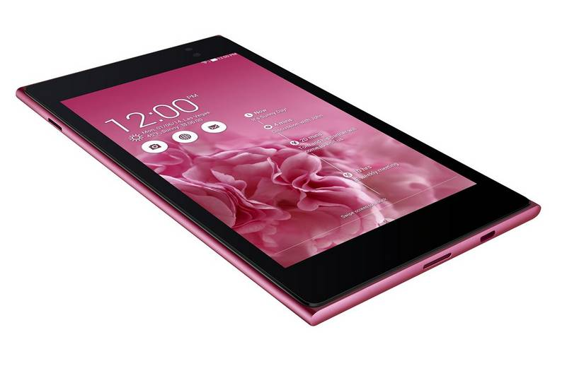 moins de 150 euros la tablette rose asus memo pad 7 me572c 1i003a quad core 7 16 go android. Black Bedroom Furniture Sets. Home Design Ideas