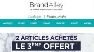 Brandalley le troisième article offert
