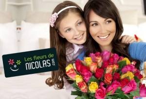 Bouquet roses fête des mères pas cher
