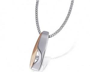 Collier Argent et Diamant Goldmaid