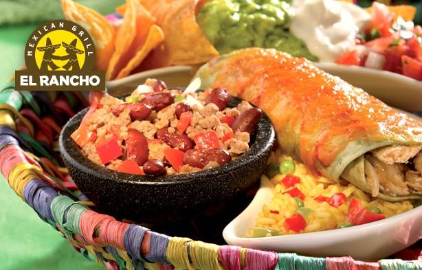 Coupon El Rancho 1 plat gratuit pour 1 plat acheté