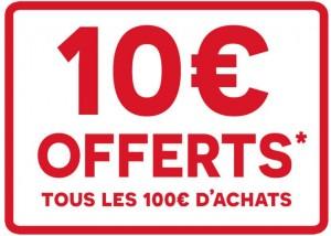Darty 10 euros offerts tous les 100 euros