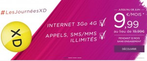 Forfait Virgin Mobile Appel/SMS/MMS illimité + internet 3Go