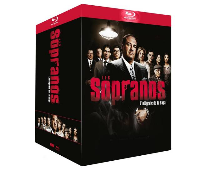 Intégral Les Soprano en Blu-ray