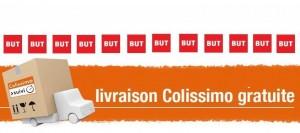 Livraison Colissimo gratuite BUT