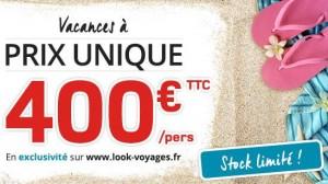 vente flash s jours 7 nuits en club look a ou s jours h tels 400 euros juin septembre ou. Black Bedroom Furniture Sets. Home Design Ideas