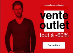Vente Outlet Celio