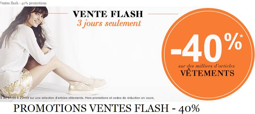 bon plan vente flash v tement la halle tout moins 40 bons plans bonnes affairesbons plans. Black Bedroom Furniture Sets. Home Design Ideas