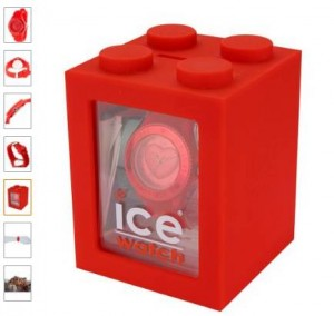montre Ice-Love de Ice-Watch rouge a 29 euros