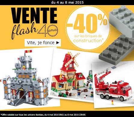 vente flash 40 sur les briques de construction banbao type lego. Black Bedroom Furniture Sets. Home Design Ideas