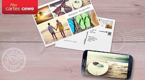 Envoyez gratuitement une carte postale personnalisée (dans le monde entier) avec la Fnac
