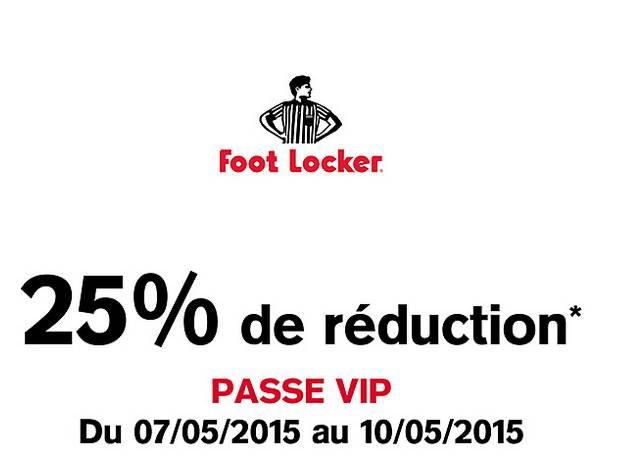 code promo foot locker france