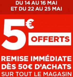 coupon Geant Casino 5 euros